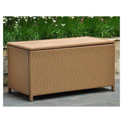 Katzer Resin Deck Box Color: Honey