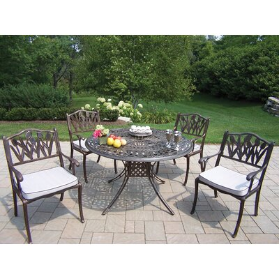 Farrior Dining Set with Cushions