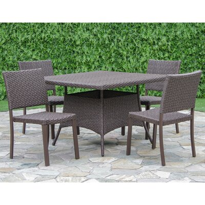 Bangs 5 Piece Dining Set