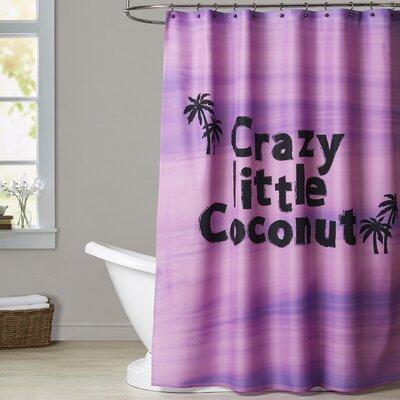 Ashlee Rae Crazy Little Coconut Shower Curtain