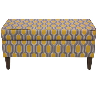 Pacheco Linen Upholstered Storage Bench