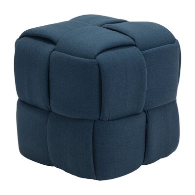 Sunset Park Stool Finish: Navy Blue