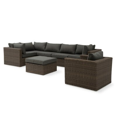Markowitz 4 Piece Sectional Set with Cushions