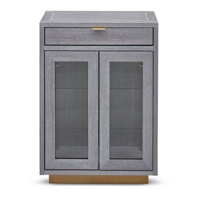 Bomar Denton 2 Door Accent Cabinet