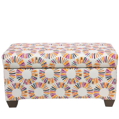 Highsmith Linen Upholstered Storage Bench