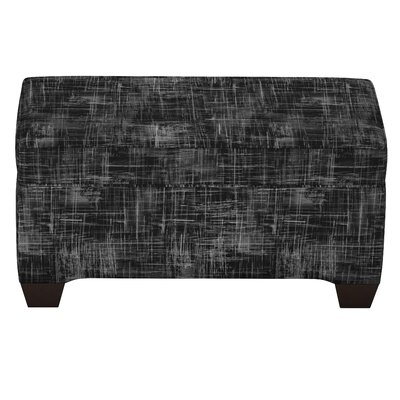 Stutler Linen Upholstered Storage Bench