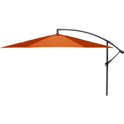 Trotman 10' Cantilever Umbrella Fabric: Orange