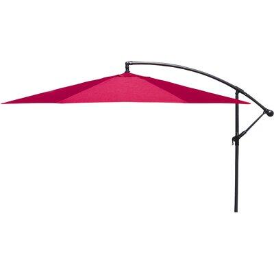 Trotman 10' Cantilever Umbrella Fabric: Red