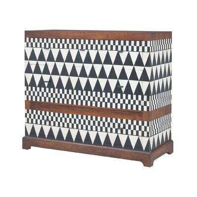 Sutliff 5 Drawer Accent Chest