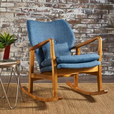 Saum Fabric Rocking Chair Fabric: Muted Blue