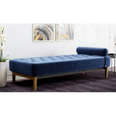 Dunkerton Chaise Lounge Color: Royal Blue