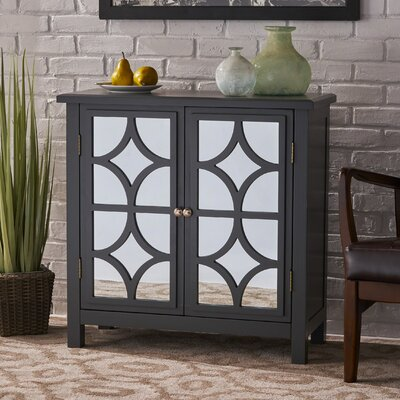 Antrim Accent Cabinet Color: Charcoal Gray