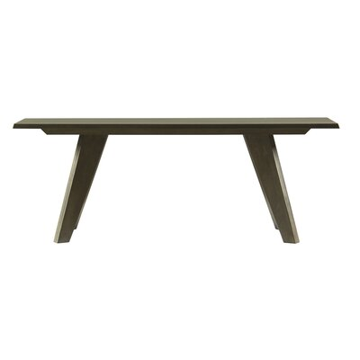 Giunta Bench Color: Rockport, Size: 18.5 H x 48 W x 14 D