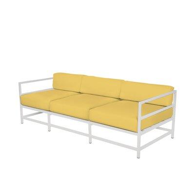 Ashlee Sofa with Cushions Fabric: Sunbrella Buttercup