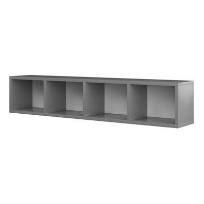 Gennevilliers Standard Bookcase Color: Semi-gloss white and silver