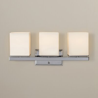 Wade Logan Chipping Sodbury 3 Light Bath Vanity Light & Reviews Wayfair