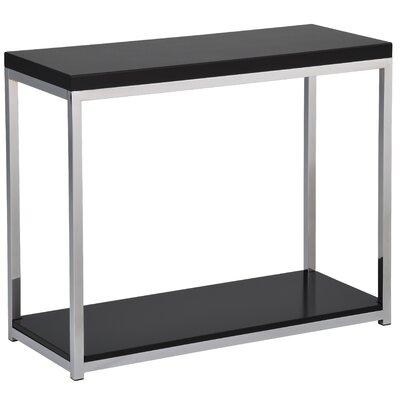 Mapleton Console Table Color: Black