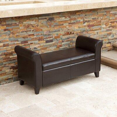Stewardson Upholstered Storage Bench
