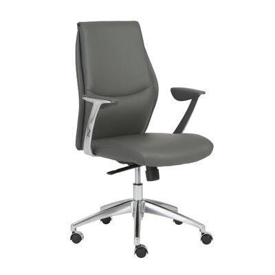 Waylon Desk Chair Upholstery Color: Gray
