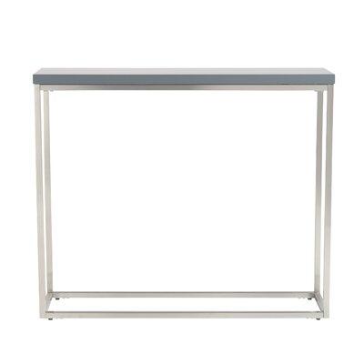 Mariotti Studio Console Table Color: Gray