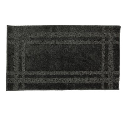 "Steelton Bath Rug Rug Size: Rectangle 1'8"" x 5'"