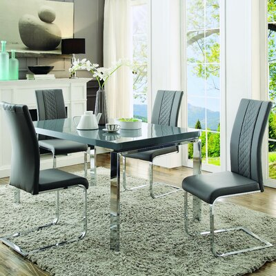 Athey Dining Table Top Color: Gray