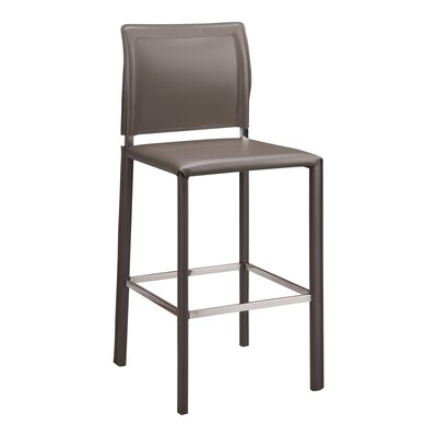"Case 26"" Bar Stool Finish: Grey"