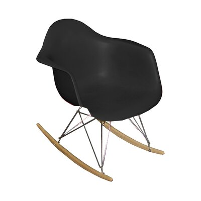 Altarichard Rocking Chair Frame Color: Black