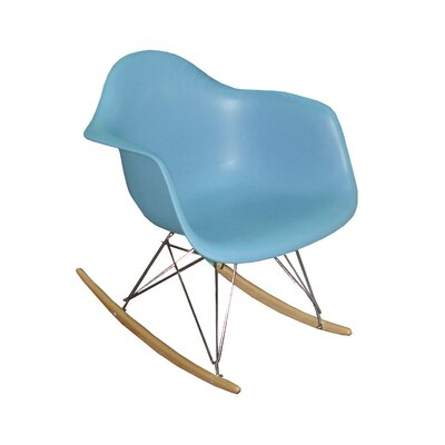 Altarichard Rocking Chair Frame Color: Blue