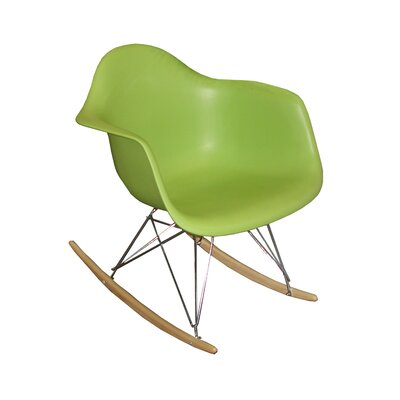 Altarichard Rocking Chair Frame Color: Green