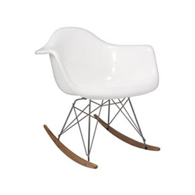 Altarichard Rocking Chair Frame Color: White