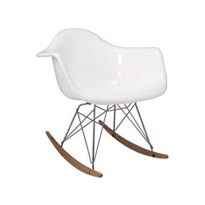 Altarichard Rocking Chair Frame Color: White