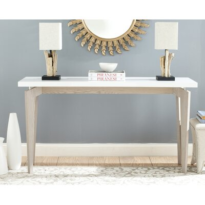 Kelly Console Table Color: Grey