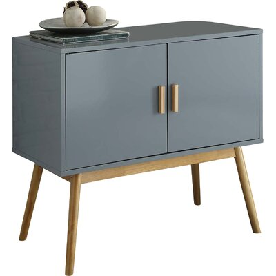 Phoebe Accent Chest Color: Gray