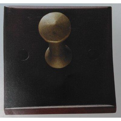 Coat Hanger Wall Hook Color: Brass