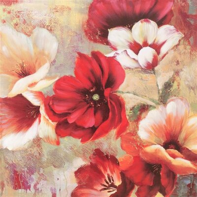 Dekoria Poppy Art Print on Canvas