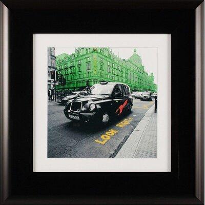 Dekoria Motropolis - Street Framed Photographic Print