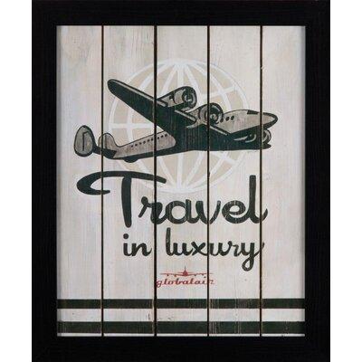 Dekoria Plane Framed Graphic Art
