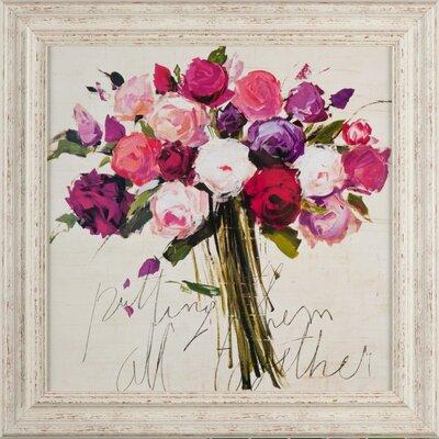 Dekoria Bunch Of Roses Framed Art Print