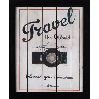 Dekoria Camera Framed Vintage Advertisement
