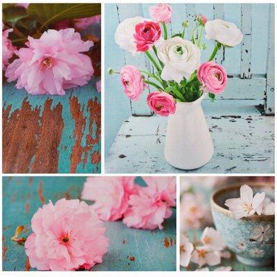 Dekoria Flowers Photographic Print