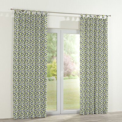 Dekoria Flower Curtain Panel