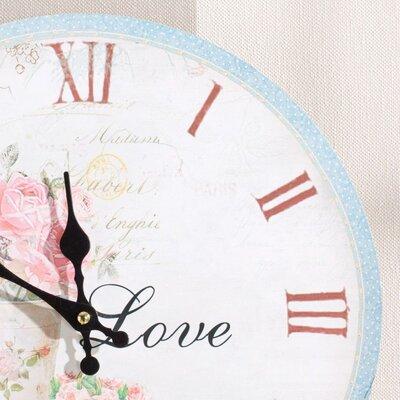 Dekoria 34cm Love Wall Clock