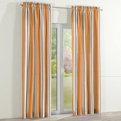 Dekoria Flower Curtain Panel