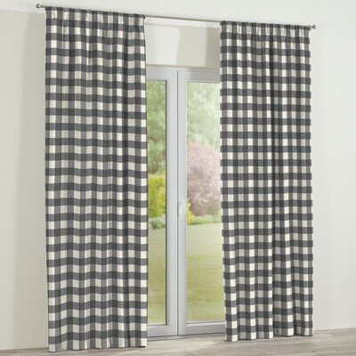 Dekoria Picture Curtain Panel