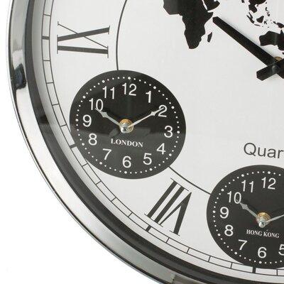 Dekoria 4-Times Wall Clock