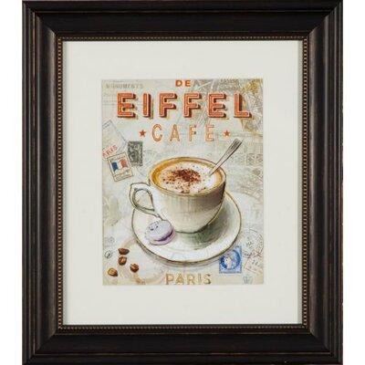 Dekoria De Eiffel Cafe Framed Graphic Art