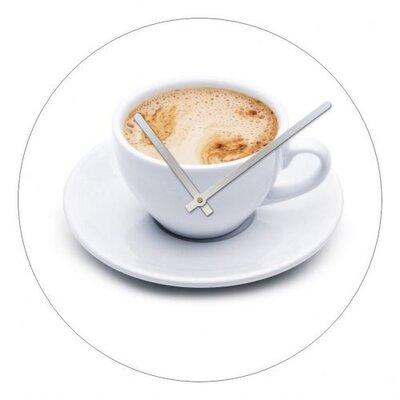 Dekoria 40cm Coffee Cup Wall Clock