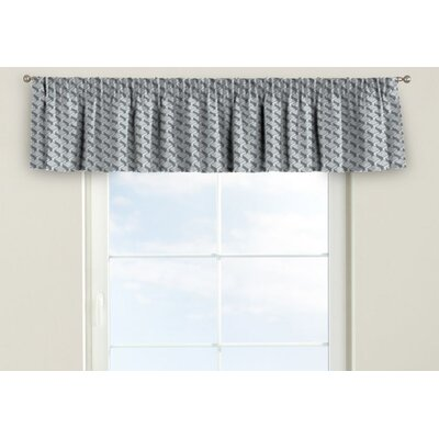 Dekoria Rustic Pencil Pleat Tier Curtain