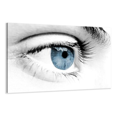 Urban Designs Eye Photographic Print Wrapped on Canvas